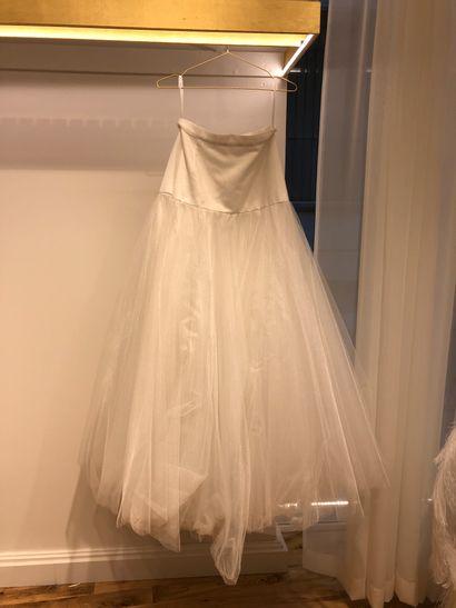 1 robe de mariée T38