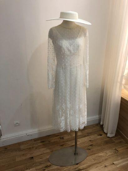 1 robe de mariée tulle