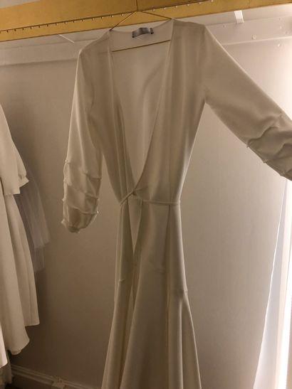 1 robe de mariée en jersey