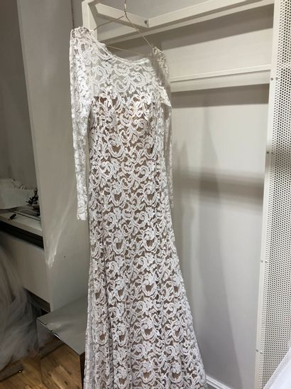 1 robe de mariée dentelle T38
