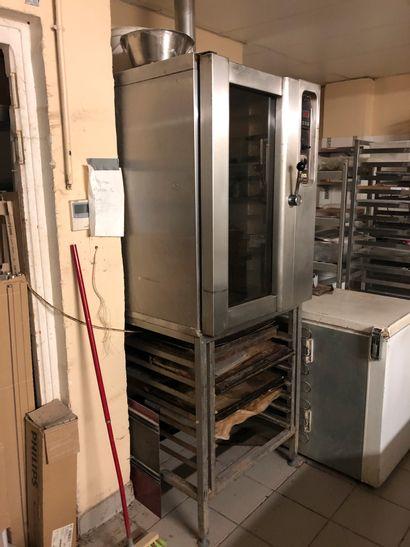 1 four électrique pâtisserie BATINOX 9 niveaux  1 support