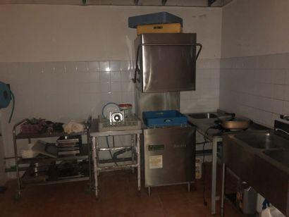 1 lave vaisselle ouverture capot SILANOS