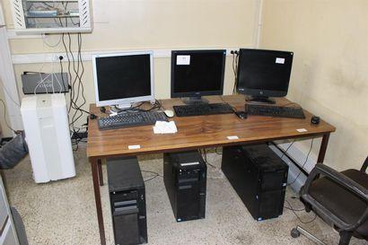 1 baie serveur  3 onduleurs ETM  3 serveurs IBM  1 imprimante CANON IR 1024 I
