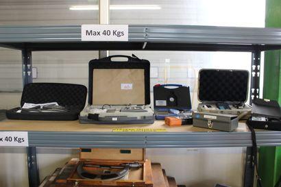 1 thermo-hydraumètres  1 testwell  1 ultrasonic TTi30  1 lux-mètre