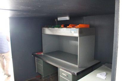 1 cabine de lumière VERIWIDE type CAC 120 - Année 2002