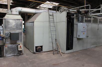 1 machine à cadrer FRATELLI CARLESSI type EG 75 N° 480 - Capacité 75 cadres