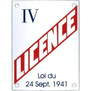 LICENCE IV SISE A SAINT-ANTOINE-L'ABBAYE
