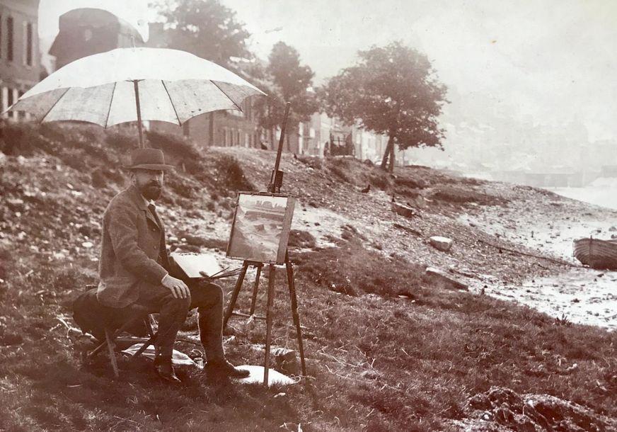 Exceptionnelle redécouverte de Charles WISLIN (1852-1932)