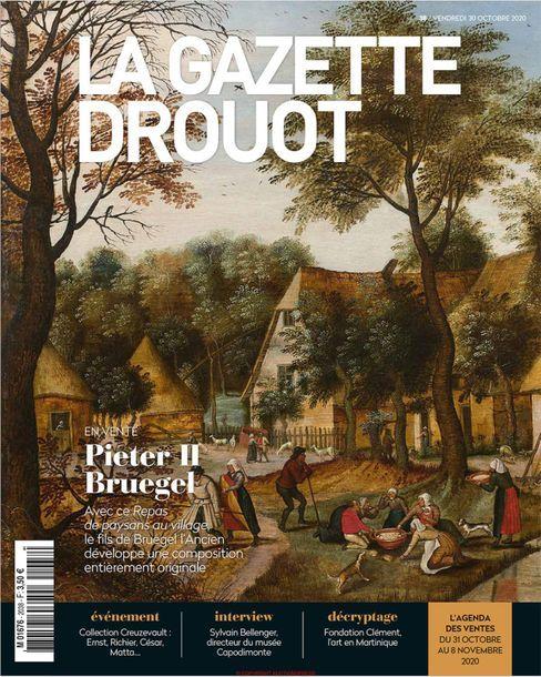 Le repas sur l'herbe de Bruegel le Jeune