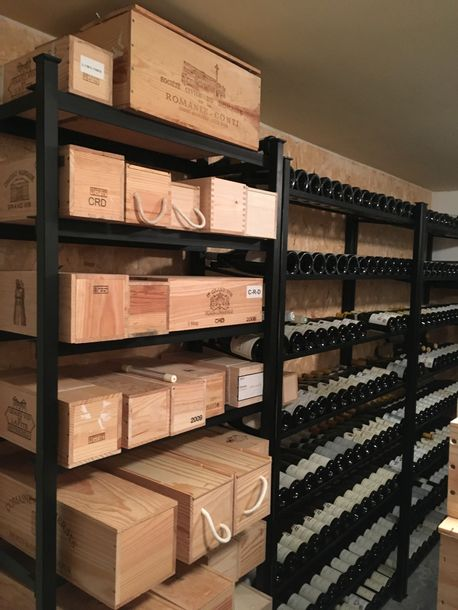 Préparation d'une belle vente de vin
