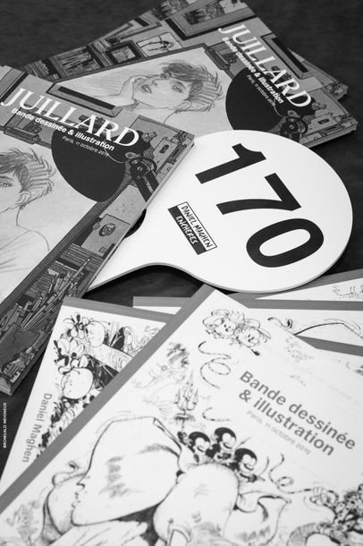 Prochaine Vente aux enchères bande dessinée et illustration