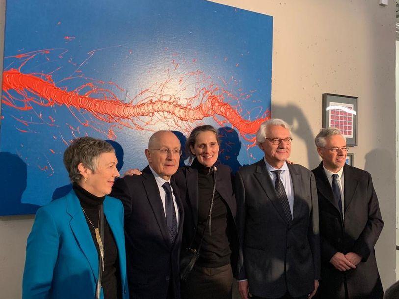 Fabienne Verdier s'inscrit dans le patrimoine de La Poste