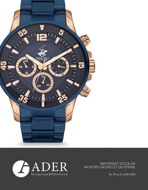 Important stock de montres neuves et de bijoux fantaisie