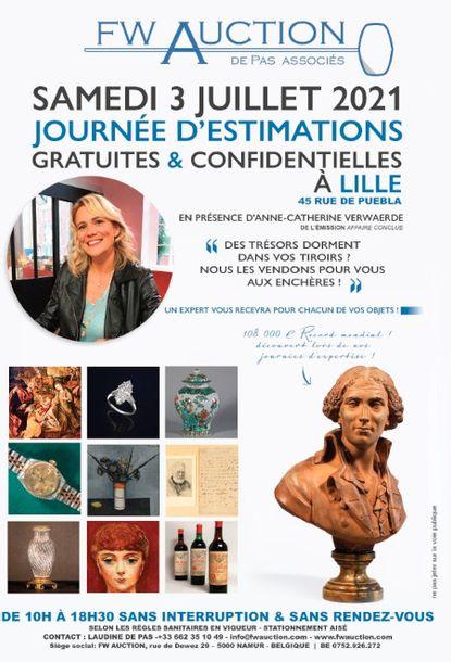Journée d'estimations gratuites et confidentielles à Lille