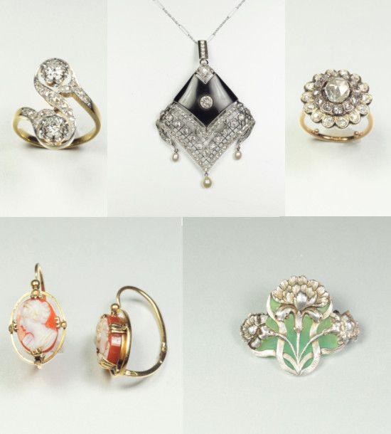 Notre prochaine vente de bijoux anciens et...