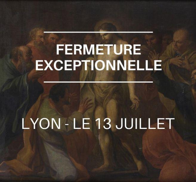 Fermeture exceptionnelle à Lyon