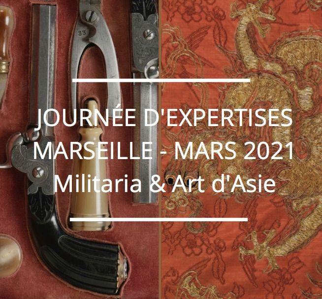 JOURNÉE D'EXPERTISES GRATUITES & CONFIDENTIELLES - ASIE & MILITARIA - MARSEILLE