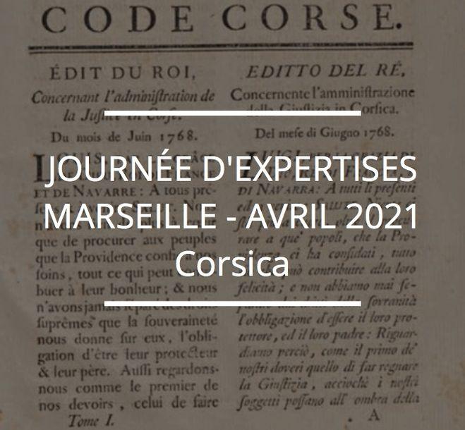 JOURNÉE D'EXPERTISES GRATUITES & CONFIDENTIELLES - CORSICA - MARSEILLE