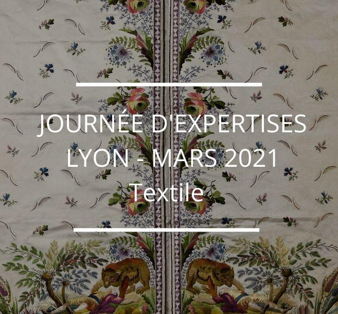 JOURNÉE D'EXPERTISES GRATUITES & CONFIDENTIELLES - TEXTILE - LYON