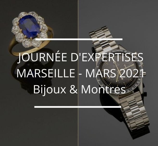 Journée d'expertises gratuites & confidentielles - Bijoux & Montres - Marseille