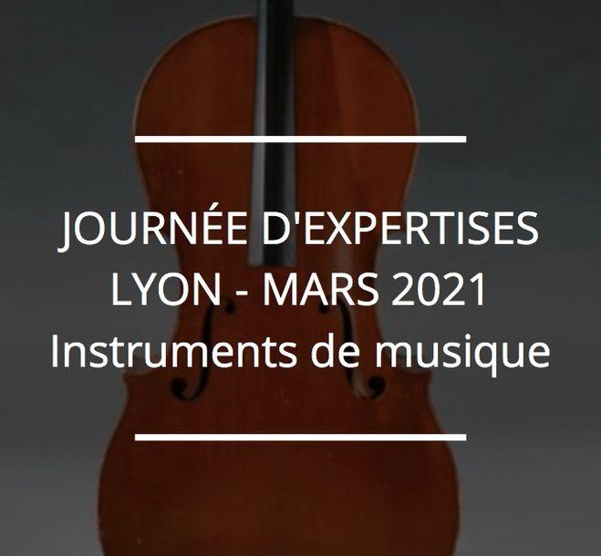 JOURNÉE D'EXPERTISES GRATUITES & CONFIDENTIELLES - INSTRUMENTS DE MUSIQUE - LYON