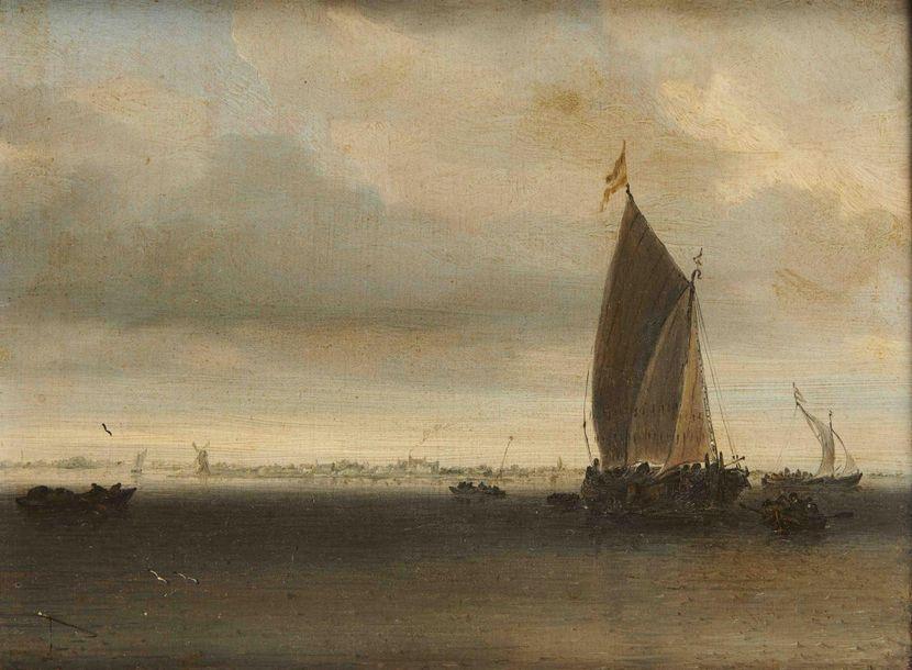 266 700 € frais compris POUR UN TABLEAU DE SALOMON VAN RUYSDAEL (vers 1600/1603 - 1670)