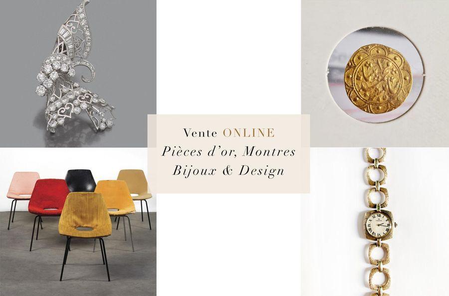 Pièces d'or, Montres, Bijoux & Design