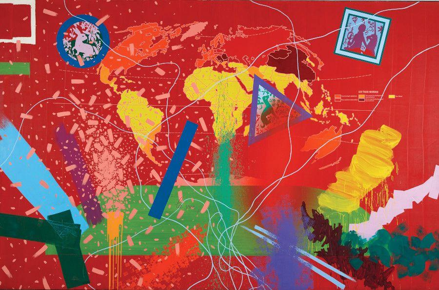 GÉRARD FROMANGER :  Un chef-d'œuvre de l'artiste