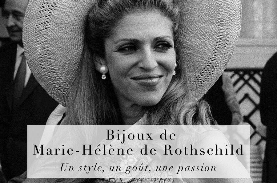 Bijoux de Marie-Hélène de Rothschild