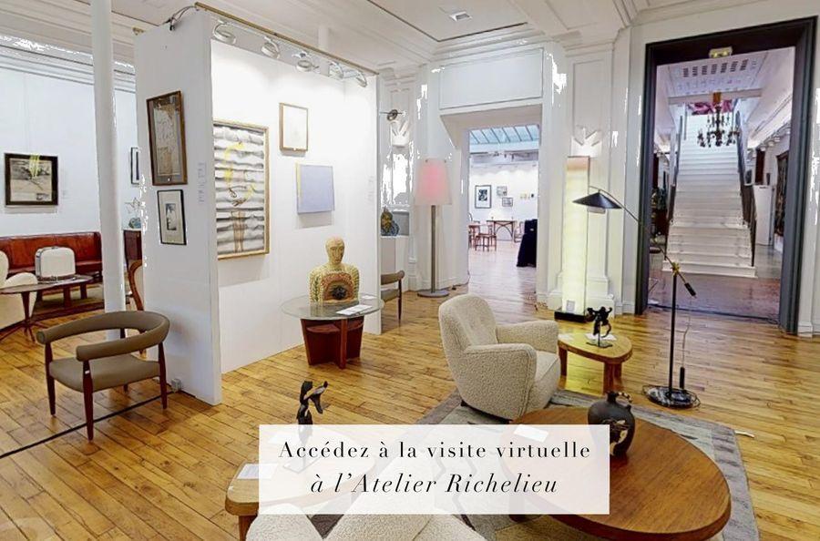 Accédez à la visite virtuelle de nos ventes à l'Atlier Richelieu