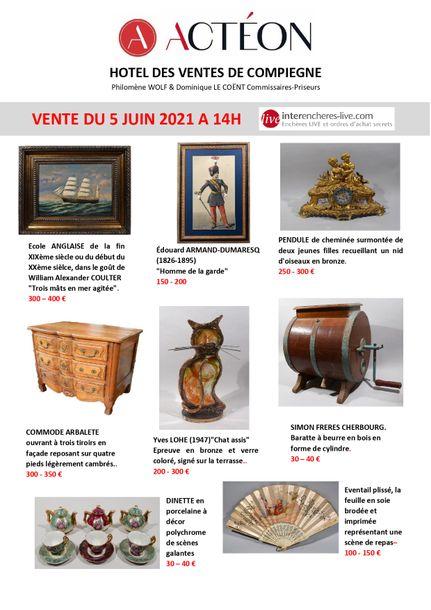 INTERIEURS DE DEMEURES DE L'OISE et COLLECTIONS PARTICULIERES