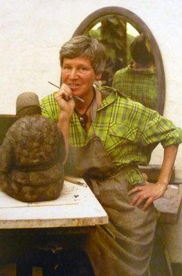 Fonds d'atelier d'Anne Canneel pour Greenpeace