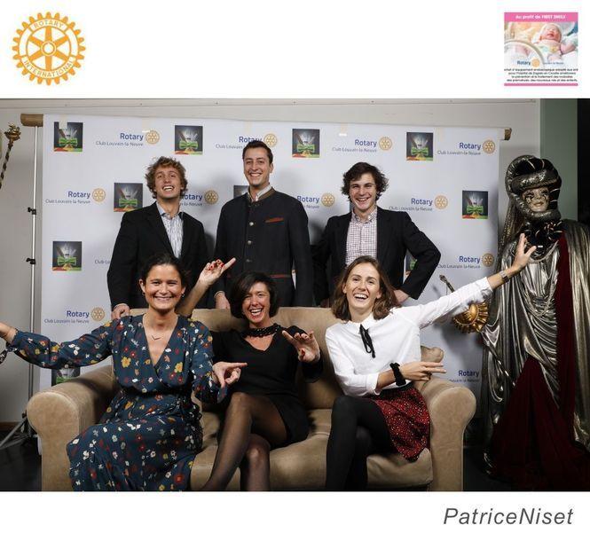 Dîner artistique du Rotary LLN