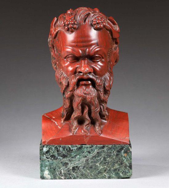 ADJUGE 41 900€ ! Herme Janiforme en marbre