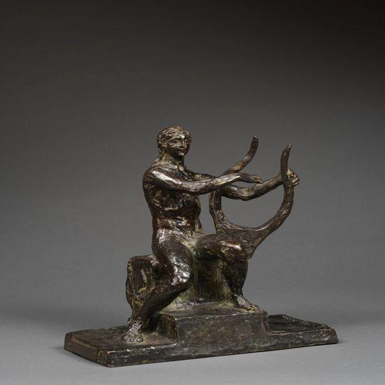 Ary Bitter, Orphée, bronze