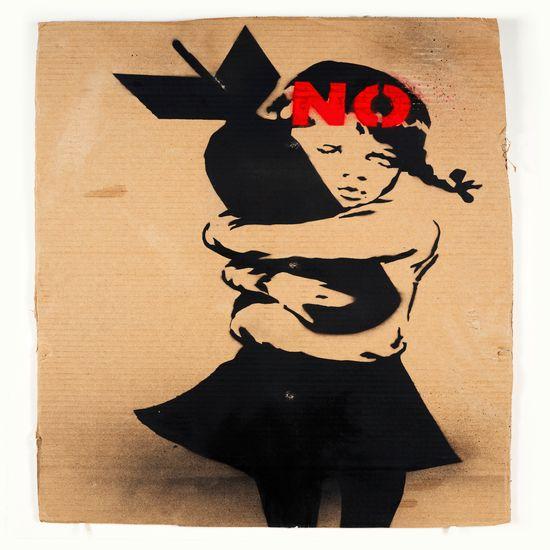 Banksy, oh oui !