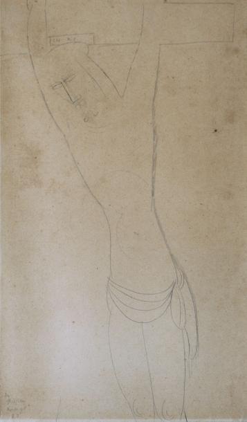 Amedeo MODIGLIANI. Collection Roger FRY. Adjugé 35 392€ le 24/02/17