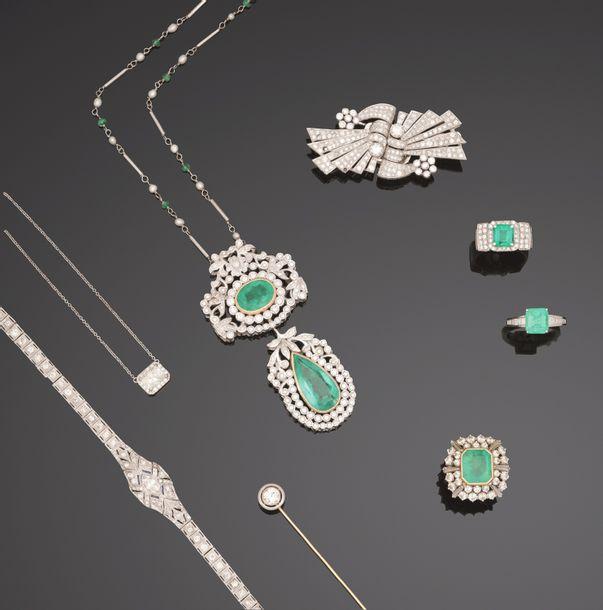 Belle vente bijoux anciens, contemporains & signés à l'Hôtel Drouot 2 Avril 2021 MAINTENUE