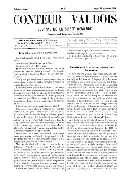 Conteur Vaudois