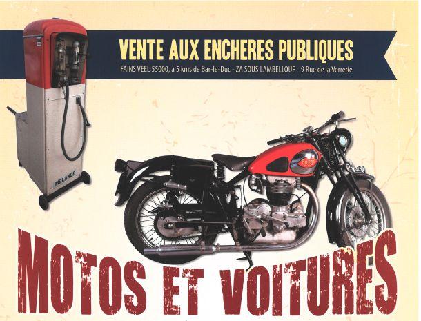 VENTE DE VOITURES ET MOTOS