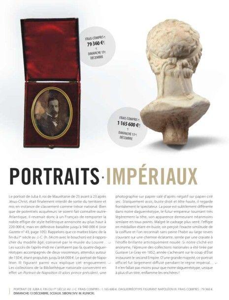 Portraits impériaux