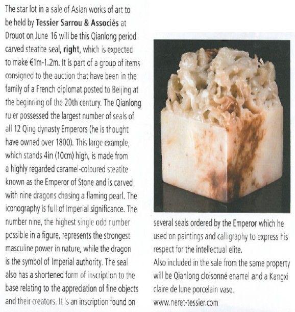 Antique Trade Gazette du 31 mai 2014