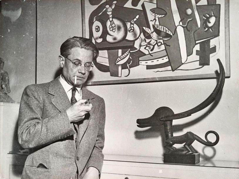 Collection de l'écrivain et critique d'art Frank ELGAR