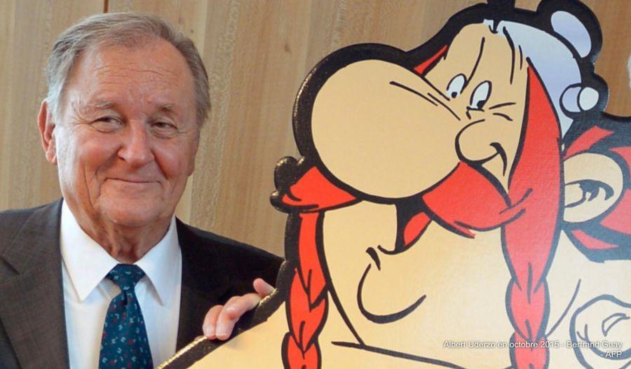 Albert Uderzo, dessinateur d'Astérix, est mort