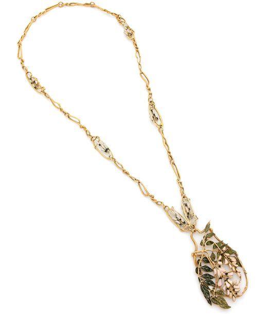 Des bijoux Art nouveau de René Lalique à l'honneur à Drouot