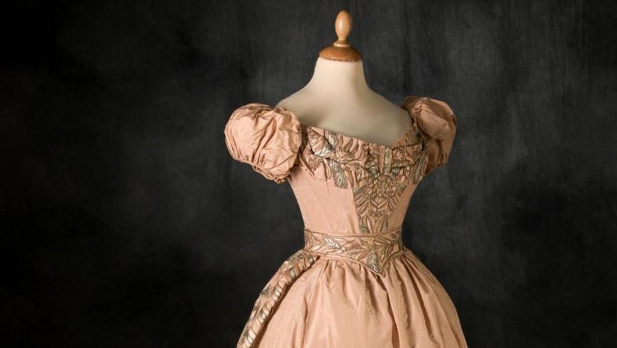 A Romantic dress with a pedigree
