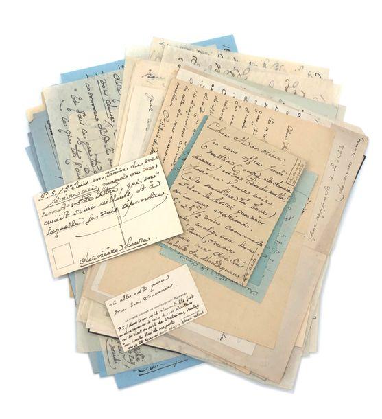 Dispersion de manuscrits et autographes