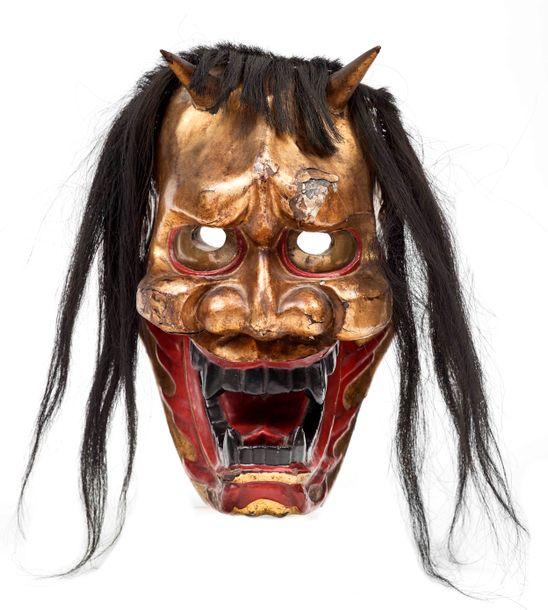 Hannya ou le masque du démon