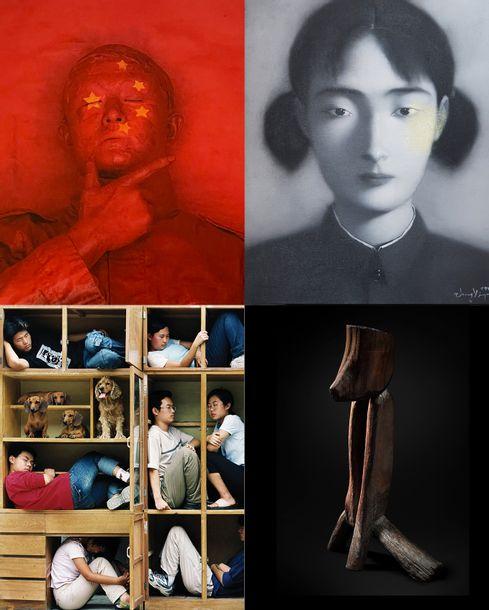 Entre tableaux, sculptures et photographies