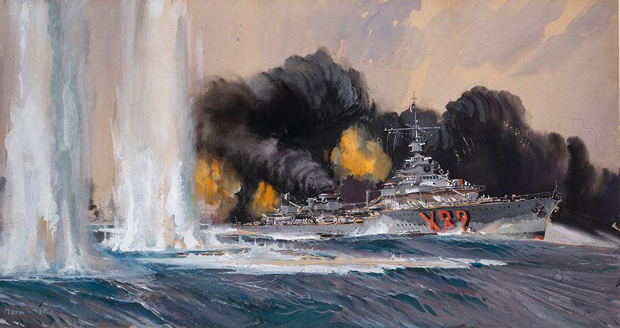Le bombardement de Dakar